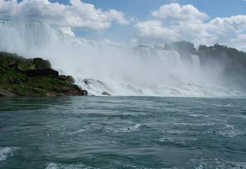 """The power of Niagara Falls..."