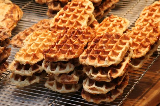 Wafle belgijskie