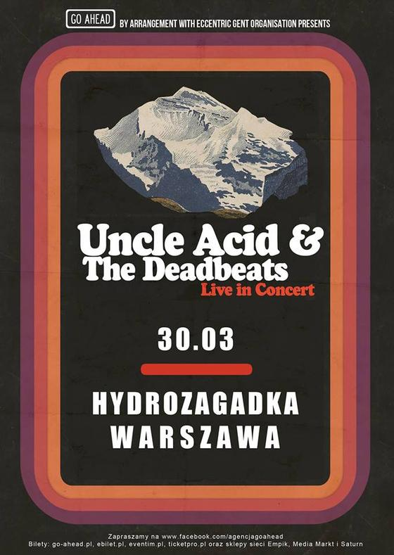 Koncert Uncle Acid and the Deadbeats
